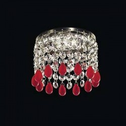 Встраиваемый хрустальный светильник Elite Bohemia L004/0/060 N Rubin